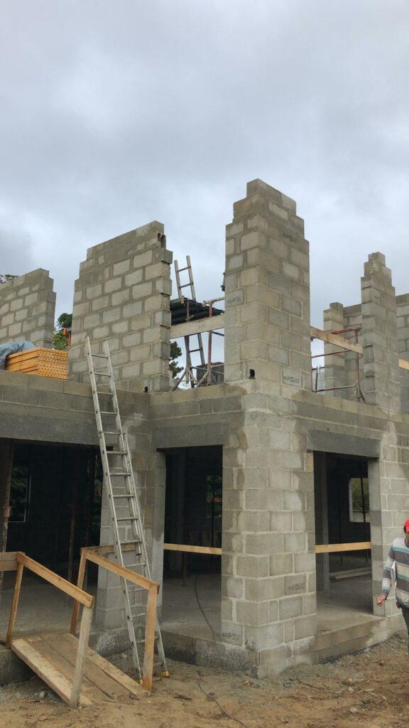 monter les murs construction maison individuelle