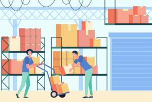 Box Stockage illustration