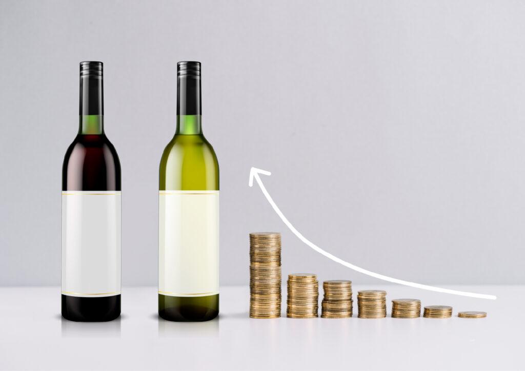 Investir dans des bouteilles de vin est une bonne bonne idée si vous cherchez à diversifier vos investissements