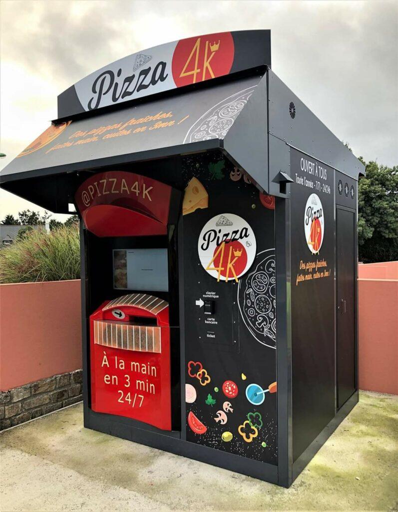 distributeurs automatiques de pizzas business rentable